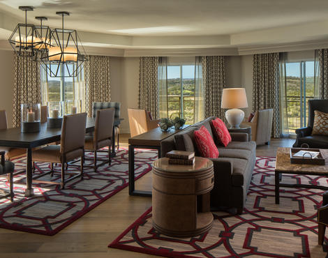luxury presidential suite at la cantera