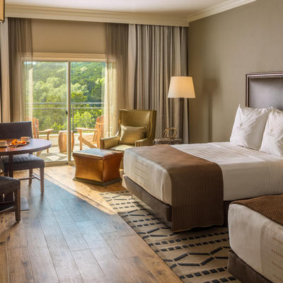La Cantera resort guest room