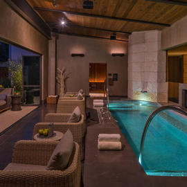 therapy pool in loma de vida spa